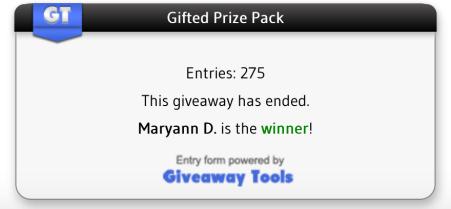 Giveaway Tools Winner
