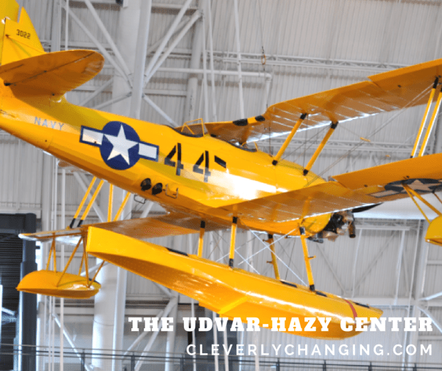 Take a virtual field trip to the The Udvar-Hazy Center Air and Space Museum