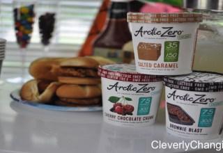 Healthy alternative to ice cream. Artic Circle Recap. Artic Zero Frozen Desset Review