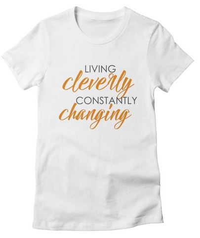 cleverly changing T-Shirt