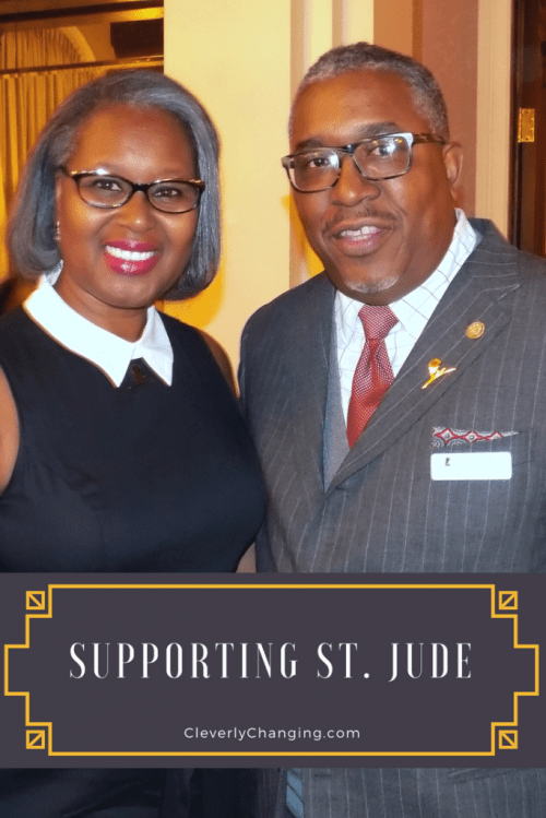 Dr. Jacquie Hood Martin and Richard Snow #stjude #charitablegiving #charity