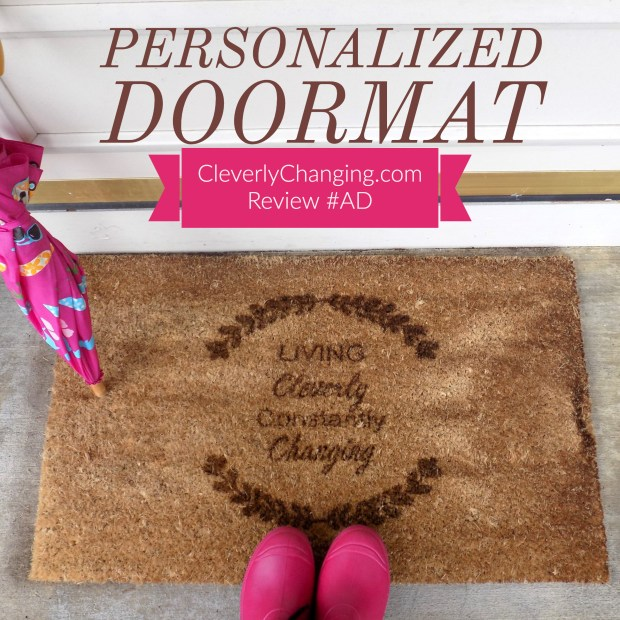 Personalized Cart Doormat review