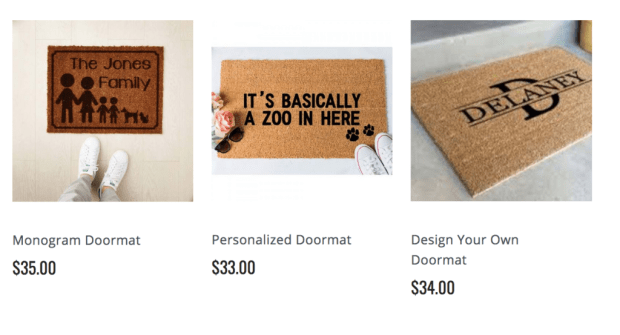 Personalized Doormats Review