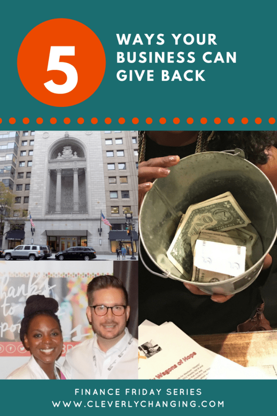 Ways Your Business Can Give Back
