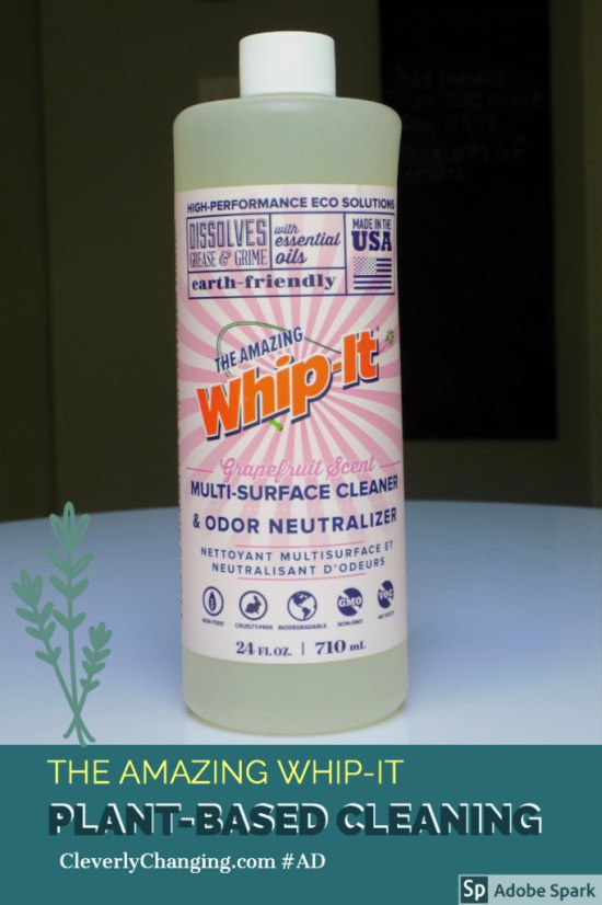 Whip it Plant Based Window Cleaner