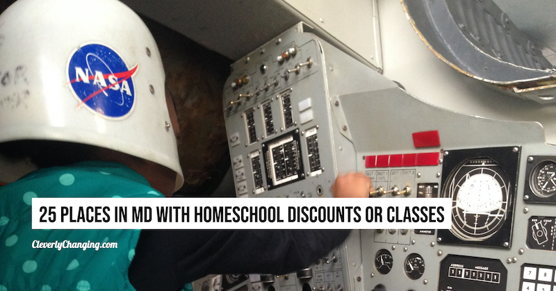 25 Places in Maryland With Homeschool Discounts or Classes