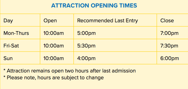 Legoland in PA Discovery Center Hours