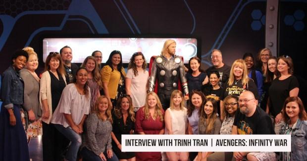 AVENGERS_ INFINITY WAR on BluRay _ Trinh Tran Interview