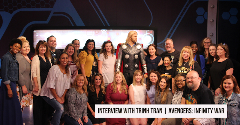 AVENGERS_ INFINITY WAR on BluRay _ Trinh Tran Interview