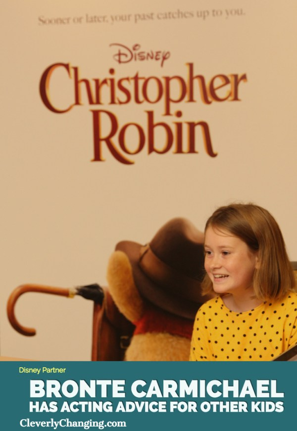 Bronte Carmichael is Madeline in Christopher Robin(1)