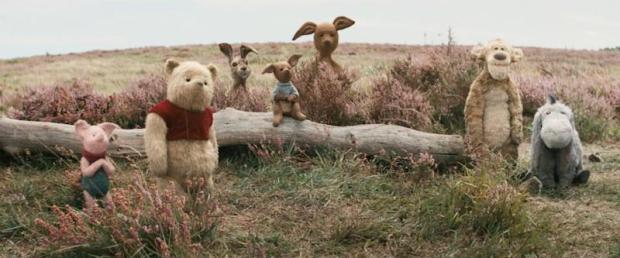 Christopher Robin Stuffed Animal Family