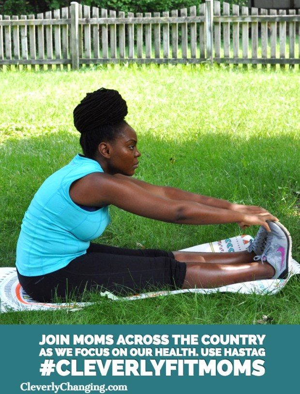Join moms across the country as we focus on our health. Use hashtag #CleverlyFitMoms to connect