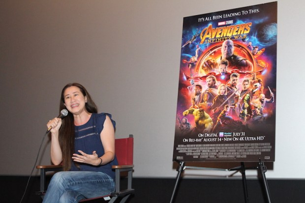AVENGERS INFINITY WAR on BluRay and Trinh Tran Interview