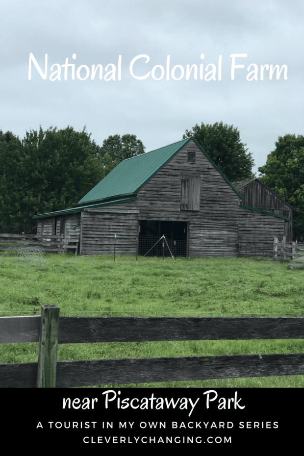 National Colonial Farm Facts - A barn on the National Colonial Farm