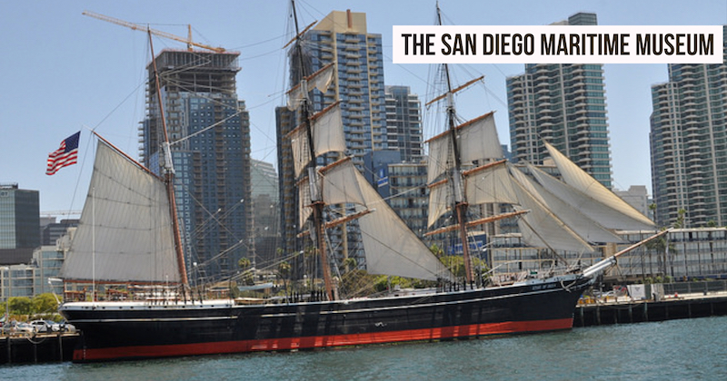 The San Diego Maritime Museum