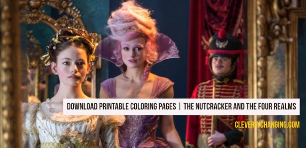 THE NUTCRACKER AND THE FOUR REALMS - Printable Coloring Pages for Children