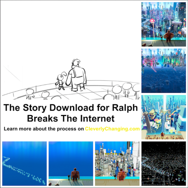 Ralph breaks the Internet Story board example