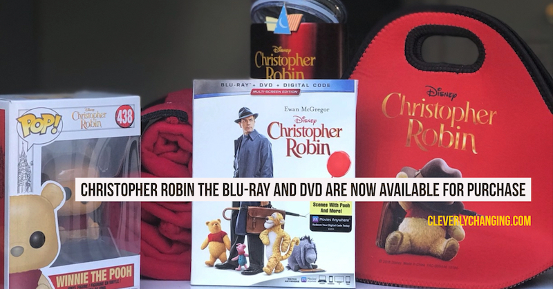 Christopher Robin Available in stores Nov 6