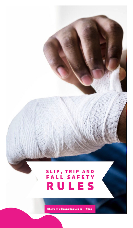 Slip, Trip and Fall Safety Rules