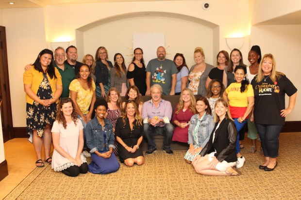 Elle Cole Blogger | Christopher Robin Press Junket with Jim Cummings photo credit: Louise Manning Bishop of https://momstart.com