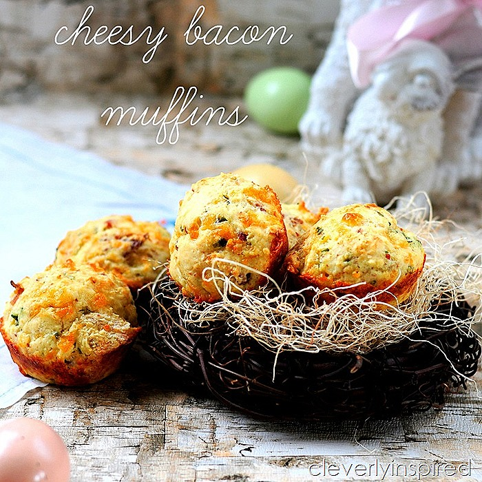 cheesy bacon muffin recipe (1)