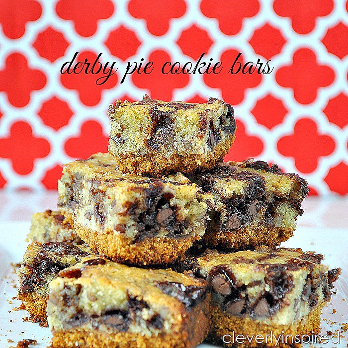 Derby Pie Cookie Bars @cleverlyinspired (5)