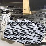 Kitchen Backsplash Behind A Stove Clever Mosaics