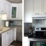 Grey Subway Tile Backsplash Clever Mosaics