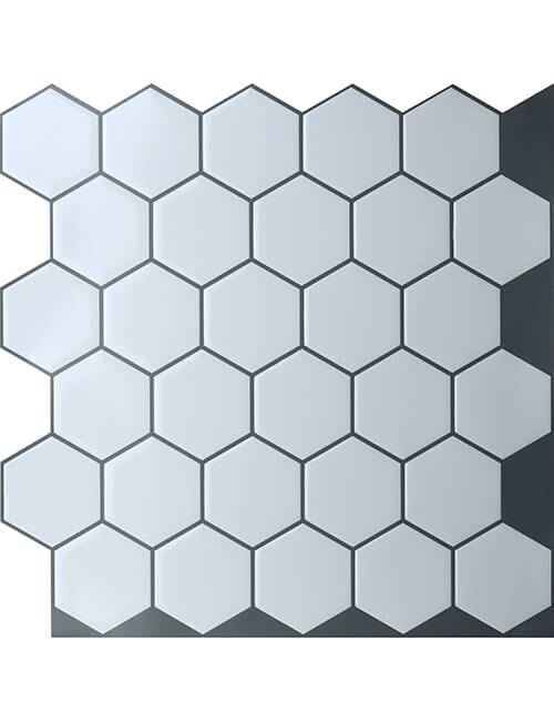 https clevermosaics com product hexagon tile sticker