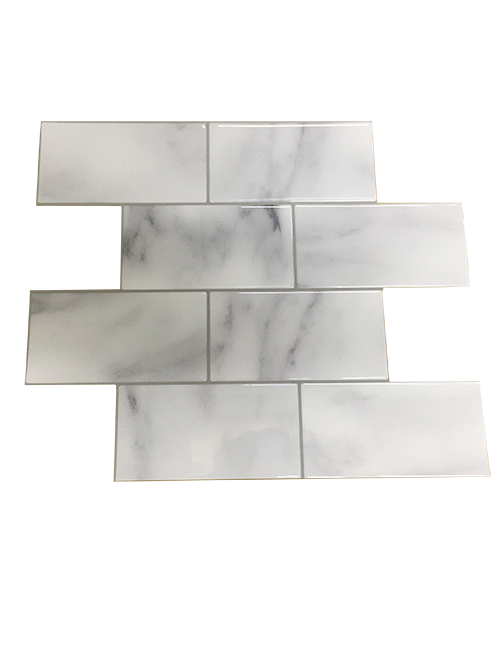 thick marble subway tile