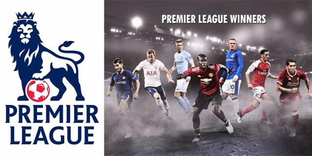 Documented Premier League Winners Since 1989 To Date