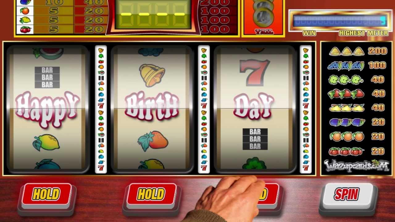 Casino Slots And Happy Birthday Meme Cleversalsa