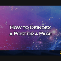 How to Deindex a Post or a Page - Clevious
