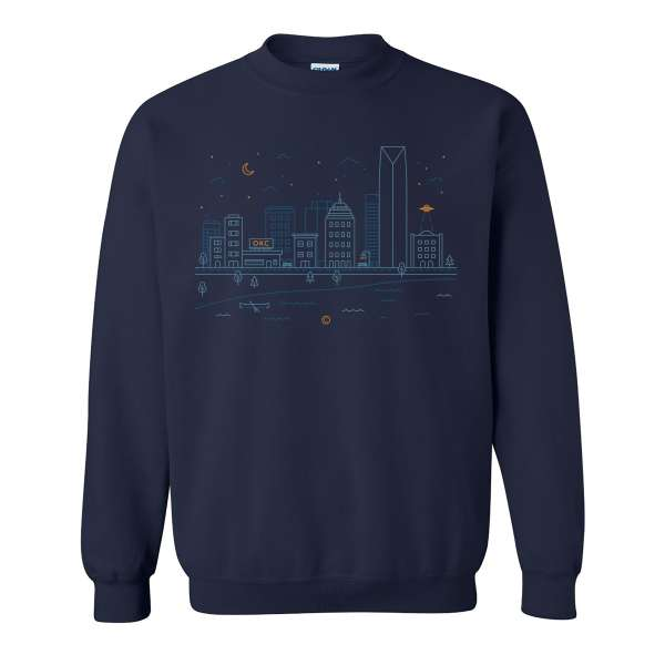 Cityscape Navy Front