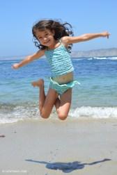 Caitlyn jumping for joy!