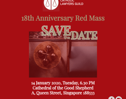 Save the Date for Red Mass 2020