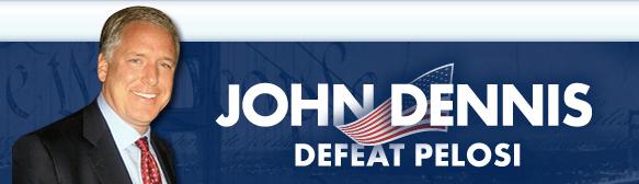 Meet John Dennis, Nancy Pelosi's anti-war, pro-civil liberties, pro-gay rights Republican opponent