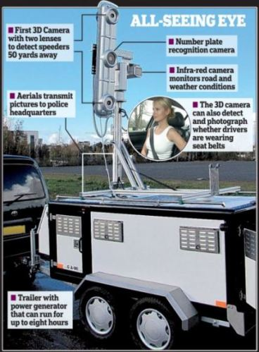 New speed camera can catch drivers committing five offences at once