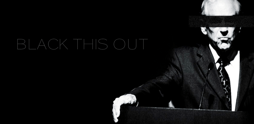 Black THIS Out — a Money Bomb with attitude – October 19th for Ron Paul