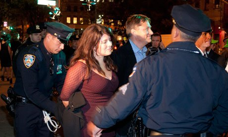 Naomi Wolf: How I was arrested at Occupy Wall Street