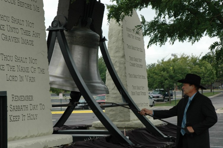 David Hall Memorial on October 11, 2012