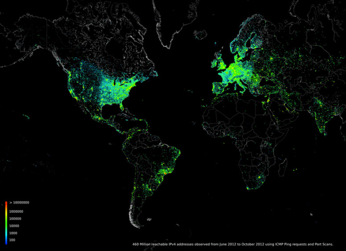 What Happened When One Man Pinged the Whole Internet