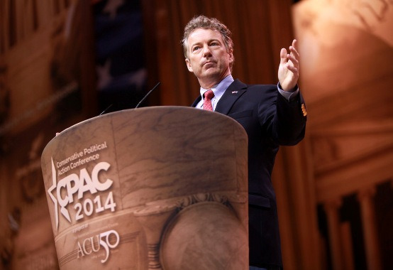 Rand Paul at CPAC 2014  / photo credit: Gage Skidmore (cc)