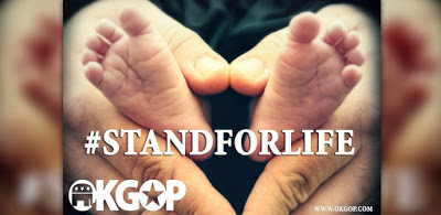 OKGOP Stands for Life — Moves to Defund Planned Parenthood and Stop the Killing Fields in Oklahoma