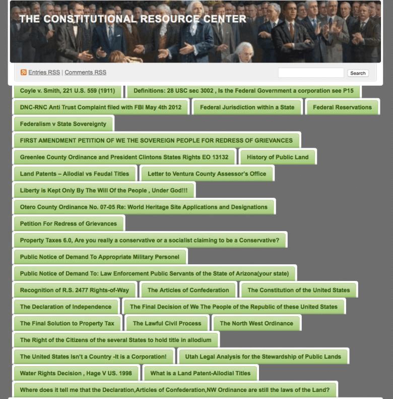 Constitutional Resource Center via TAS