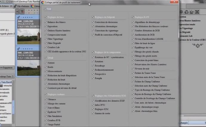 Présentation du logiciel RawTherapee les copie clicandzoomphoto