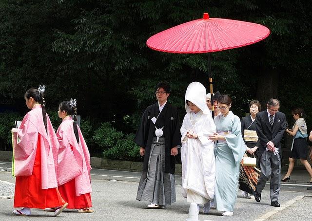 Las bodas japonesas tradicionales