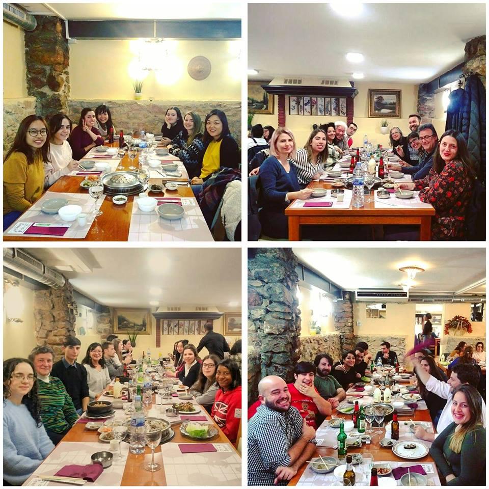 clicasia celebra cena navideña
