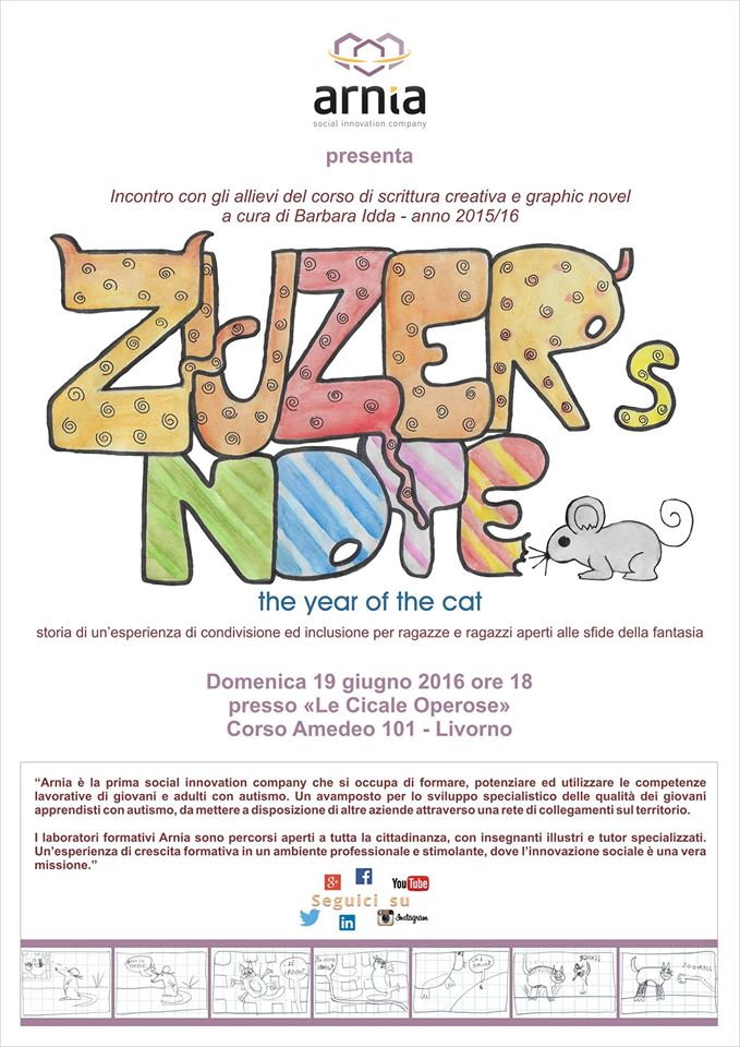 Zuzer's Note the year of the cat CliccaLivorno