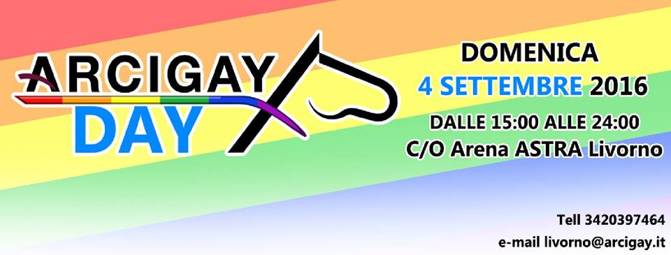arcigay day 2016 cliccalivorno